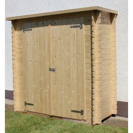 Casetta in legno KERTI 198x98 cm - casette da giardino