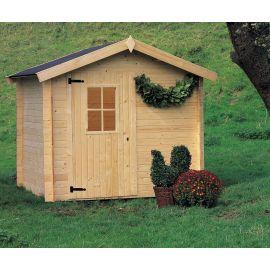 Casetta in legno CINZIA 238x198 cm - casette da giardino