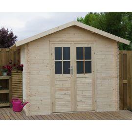 Casetta in legno TINA 288x288 cm - casette da giardino