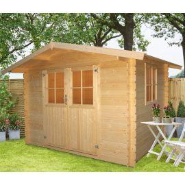 Casetta in legno JULIA 288x218 cm - casette da giardino