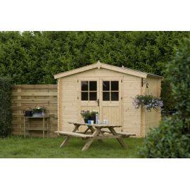 Casetta in legno ST.MORITZ 268x268 cm - casette da giardino