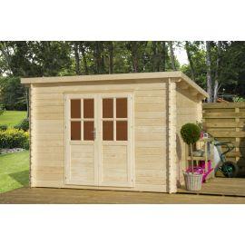 Casetta in legno TOP B 318x318 cm - casette da giardino