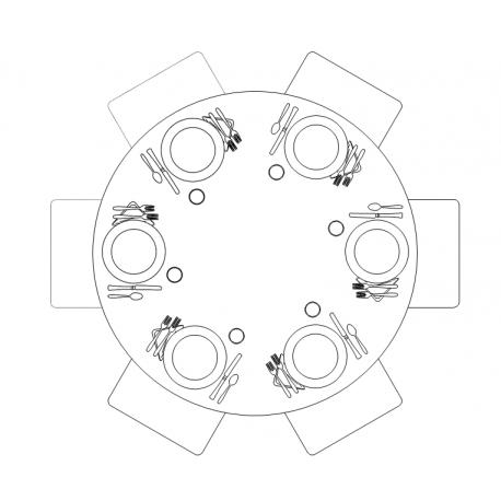 Plance per tavoli da ristorazione