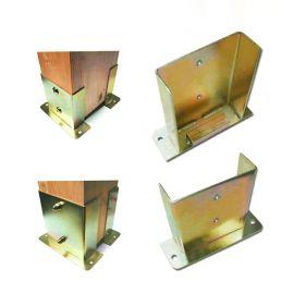 Portapilastro regolabile con profili laterali a C