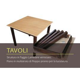 Tavoli per ristorazione