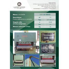 Calibratrice a contatto A.COSTA