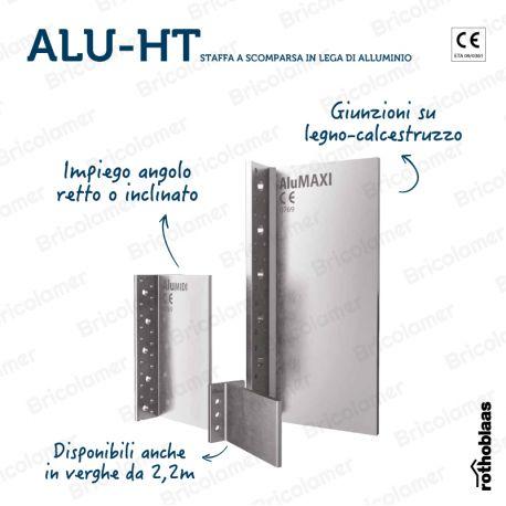 ALU-HT MIDI staffa a scomparsa in lega di alluminio