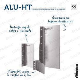 ALU-HT MINI staffa a scomparsa in lega di alluminio