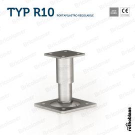 TYP R10 portapilastro regolabile