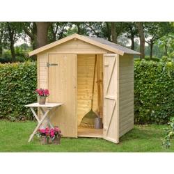 Casetta in legno NARCISO 170x120 cm - casette da giardino