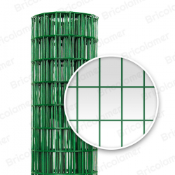 RETE METALLICA RETTANGOLARE PLASTIFICATA 50X75  (25 mt)