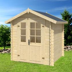 Casetta da giardino LUISA 208x208cm