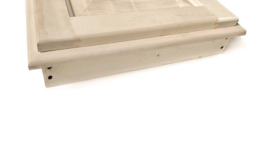 Antine in legno con talaio