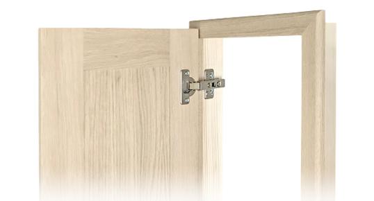 Antine in legno con telaio su misura