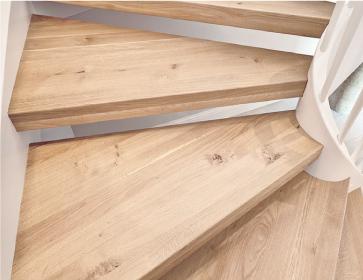Preventivo gradini in legno