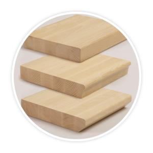 Scale interne in legno fai da te bricolamer for Gradini in legno massello prezzo