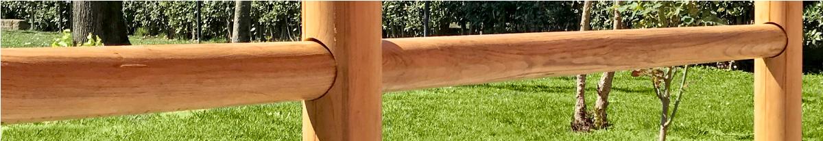 pali di castagno torniti