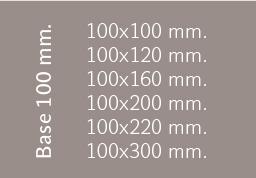 Base 100 mm