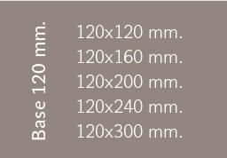 Base 120 mm