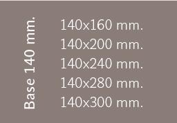 Base 140 mm