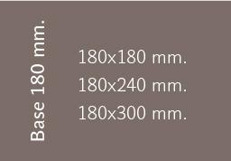Base 180 mm