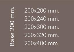 Base 200 mm