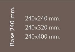 Base 240 mm