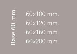 Base 60 mm