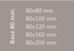 Base 80 mm