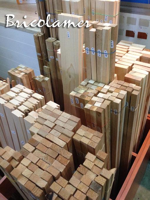Listelli in legno vari profili