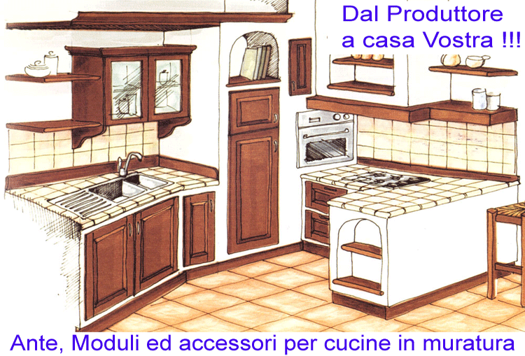 Componenti per cucine componibili stunning strutture per cucine componibili photos ideas design - Cucine in muratura genova ...